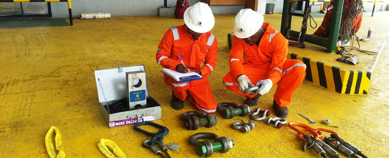 Lifting Gear Inspection